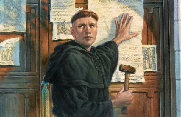 Martin Luther, 95 Theses, Wittenberg Door